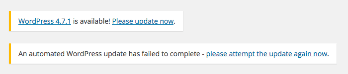 Automatically Update fails how to upgrade Manually to Latest