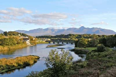 killorglin town wild Atlantic way kerry ireland