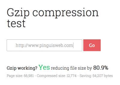 GZIP Compression / Deflate Pinguis Website Design GZIP