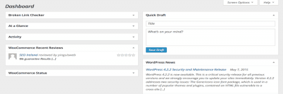Wordpress Tutorials & TipsDashboard