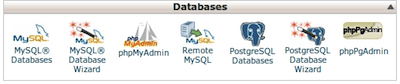 create database with cpanel