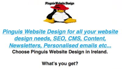 Pinguis Email Marketing Campaign in Ireland