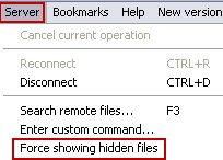 Force-Showing-Hidden-Files
