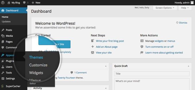 Customiser Your WordPress Website