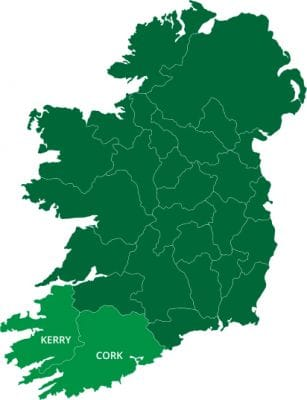 Directions Planner in Kerry and Cork Ireland