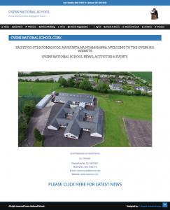 Ovens National School New Website Design