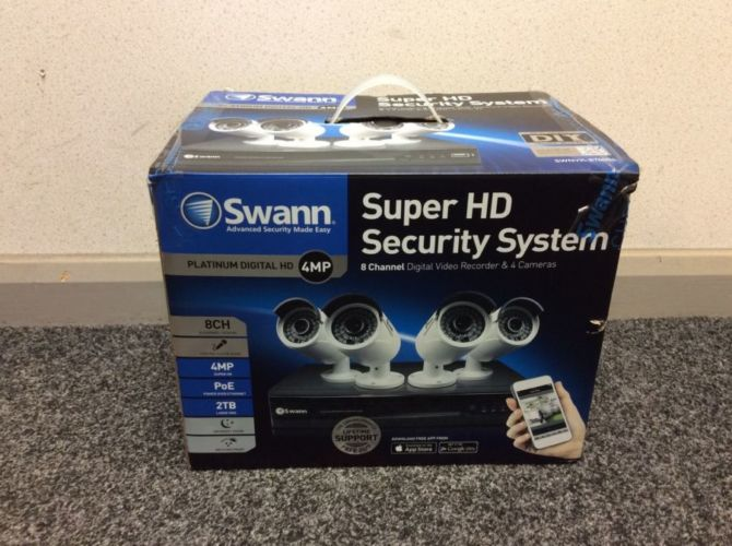Complete IP surveillance package from SWANN CCTV