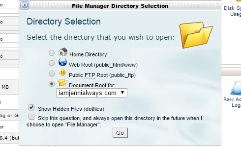 Changing Upload Max. Filesize Website