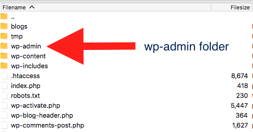 WordPress Admin Folder Highlighted Save php.ini in wordpress