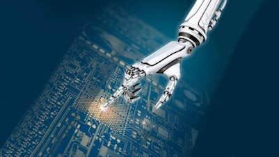 Website Design Cork Kerry Robot-Hand
