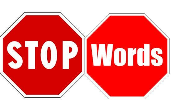 SEO Stop Word & Google Search Results