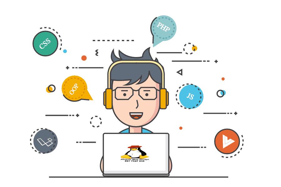 Pinguis Web and SEO Dedicated Hard Working Designer